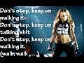 Miley Cyrus - Liberty Walk Lyrics