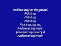 Justin Bieber - Ft. Jaden Smith - Never Say Never