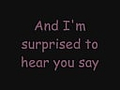 Miley Cyrus - Goodbye - W/lyrics