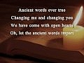 Michael W. Smith - Ancient Words ; Romanian Lyrics